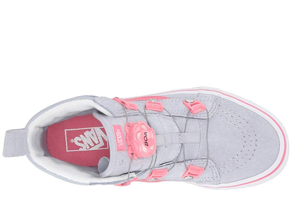 3be80433732 Vans Kids SK8-Hi MTE Boa (Little Kid Big Kid) Girls Shoes (MTE) Gray ...