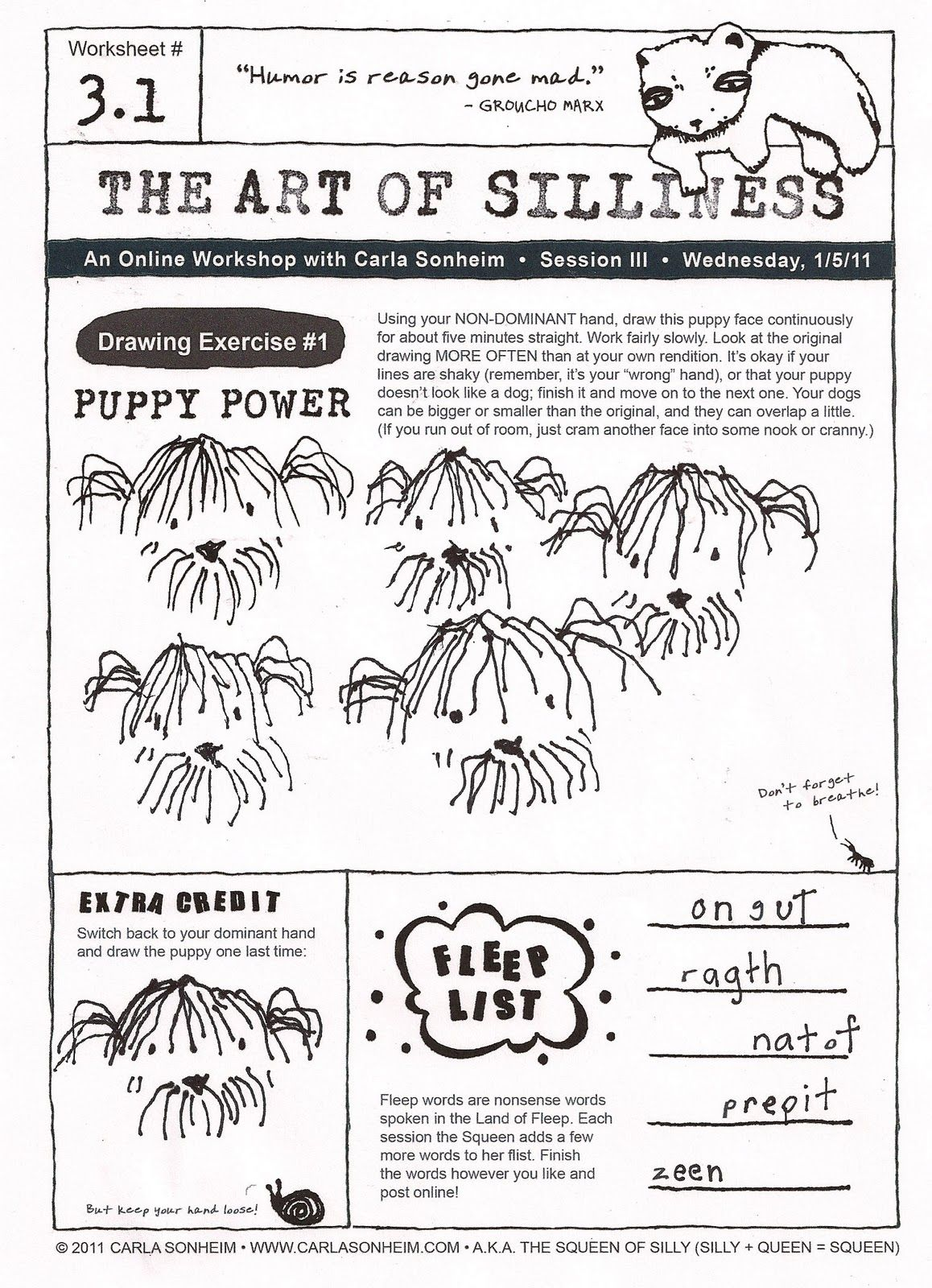 The Art Of Silliness 3 1