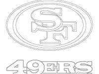#49ers #coloring #francisco #logo #pages #san #2020 | San ...