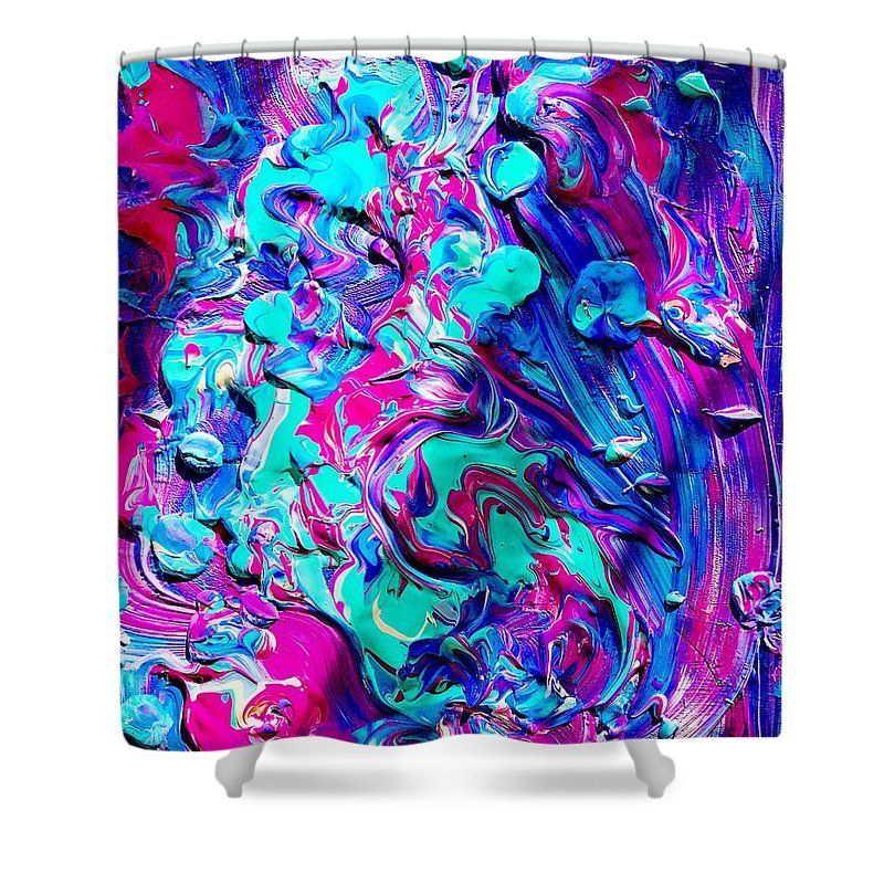 Splash Of Color Shower Curtain For Sale By Monique Faella