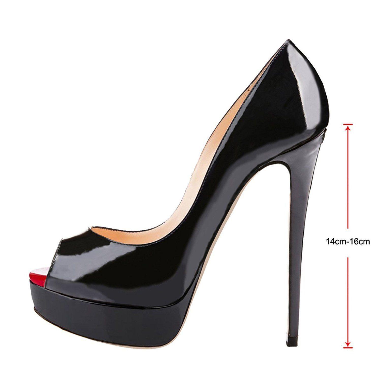 onlymaker Women/'s Sandals Peep Toe Slingback High Heels Stiletto Party Pumps