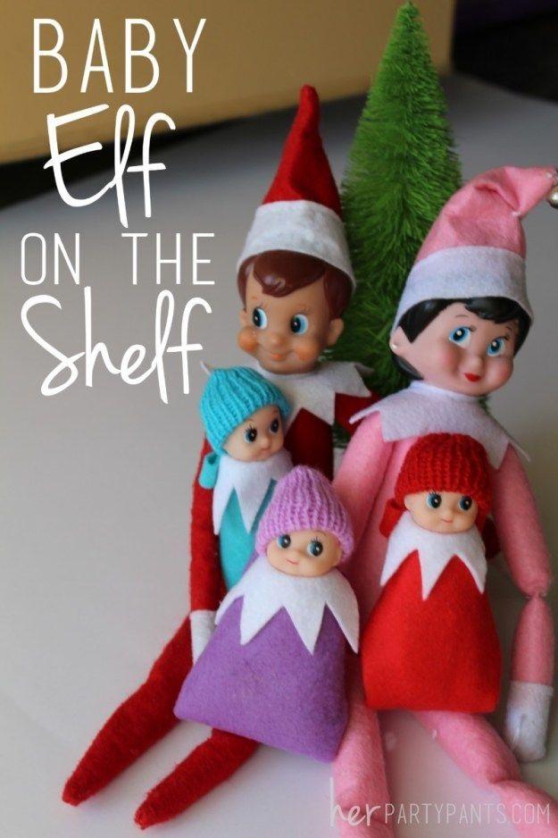 Baby Elf on the Shelf