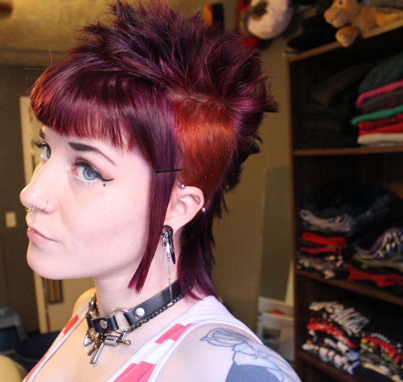 Edgy Punk Haircuts: Similar To The Cut I Got Recently. Very Cute