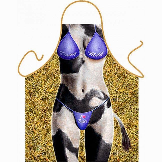 Delantal Mujer Vaca | Delantales Blog