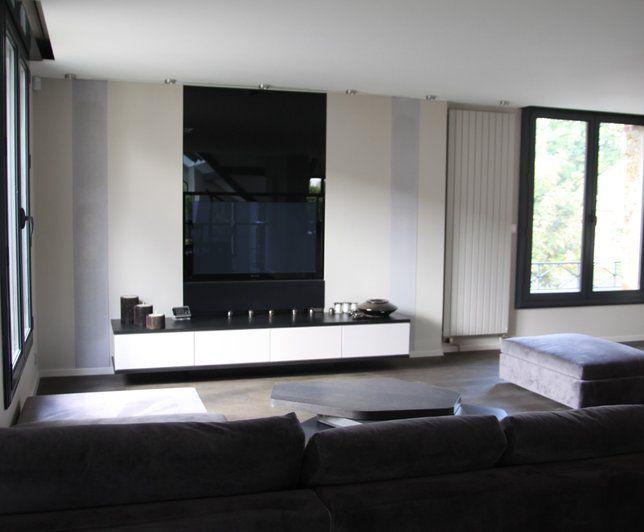 Photos Deco Idees Decoration De Meuble Tv Et Home Cinema Decoration Meuble Tv Photo Deco Deco Maison