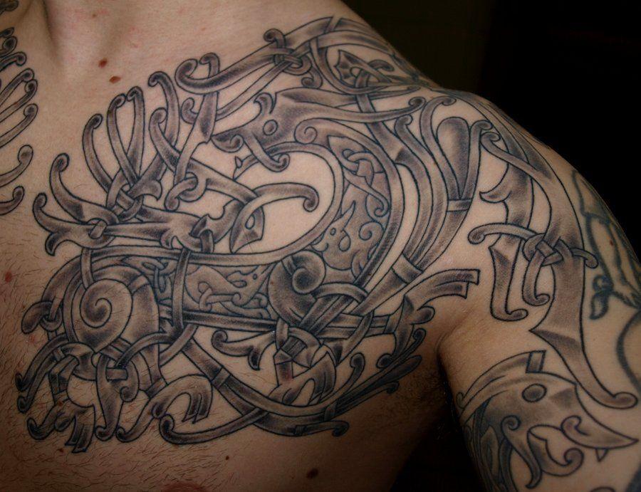viking tattoo designs | Viking Art Design 5 by DarkSunTattoo on deviantART
