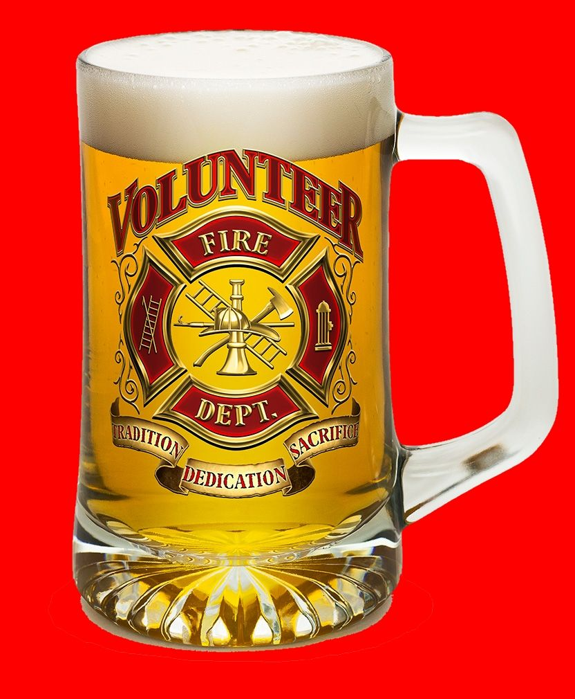 Be Grateful for Tradition, Dedication and Sacrific of the Volunteer Firefighters.    Awesome 23oz Large Tankard Glasswith a high-quality low-fired ceramic decal. The decal applied by hand and fired in a Kiln at low temperature. Tankard glass made of a high-quality heavyweight glass.    Drink your beer with this tankard glass! Beers never feel the same again with this volunteer tankardglass! ;)    Buy Yours Now!    Firefighter Forever. | Shop this product here: spree.to/aszu | Shop all of…