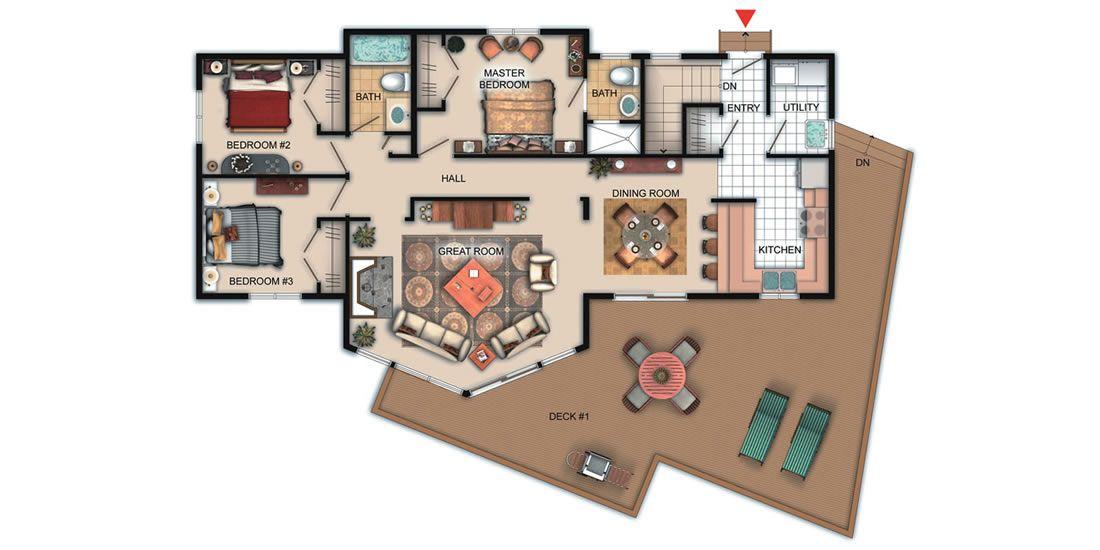 The surfside viceroy homes ltd cabins pinterest for Viceroy floor plans