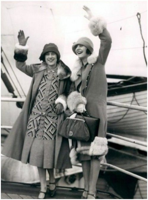 Gertrude Lawrence & Beatrice Lillie 1920's