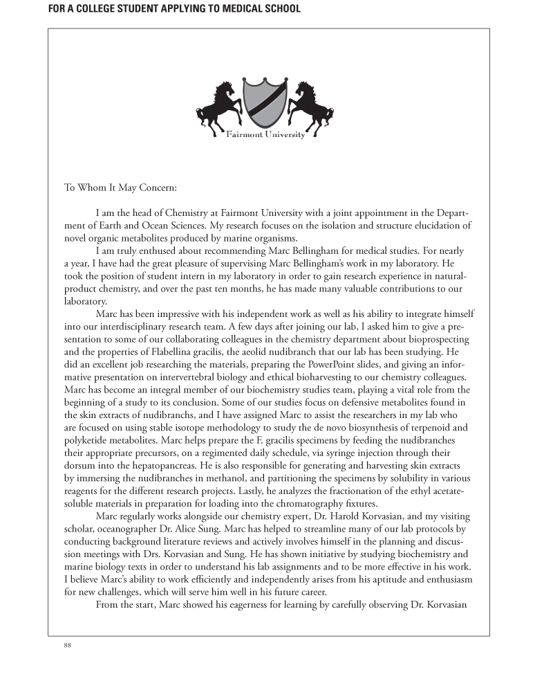 lettersofrecommendationsamples letter of recommendation sample