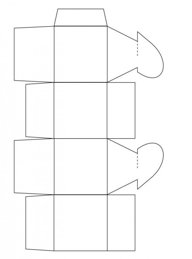 Geliebte Herz Schachtel Vorlage zum Ausdrucken | Basteln | Pinterest @KE_68
