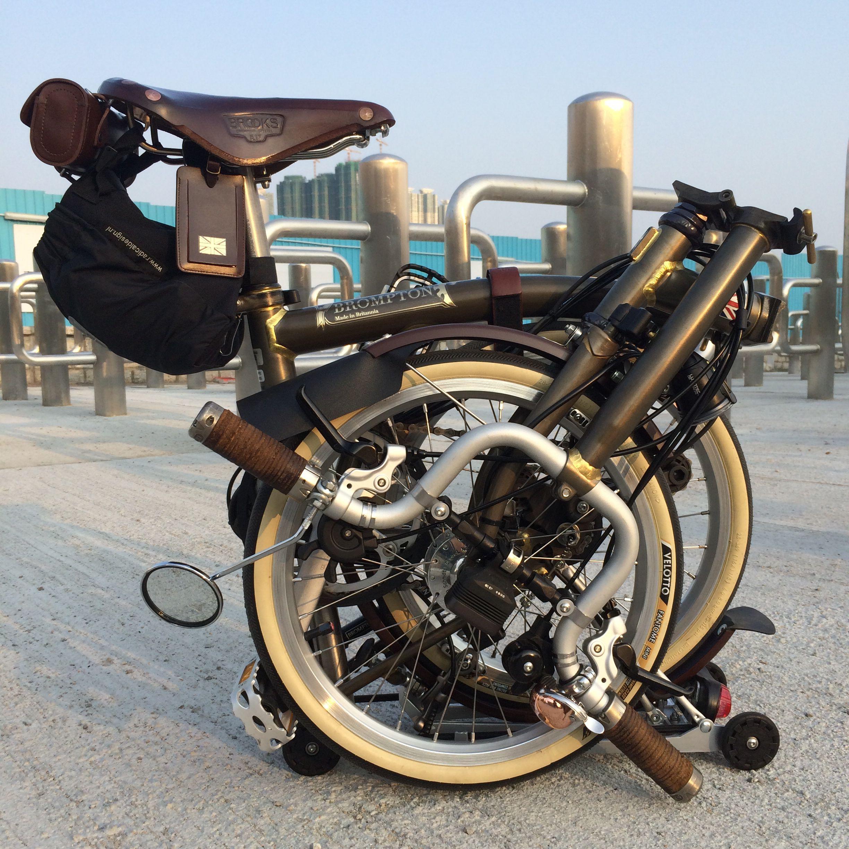 Diy New Sticker For My Brompton Bike Sepeda