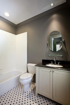 Remodelaholic 5 Tricks For Choosing The Perfect Paint Color Painting Bathroom Bathroom Paint Colors Bathroom Color Schemes