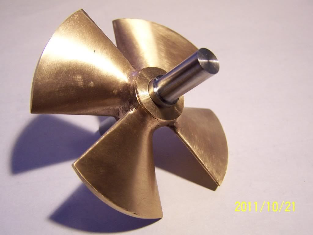 www buildbytes com   3D Printed Boat Propeller   3D Printing