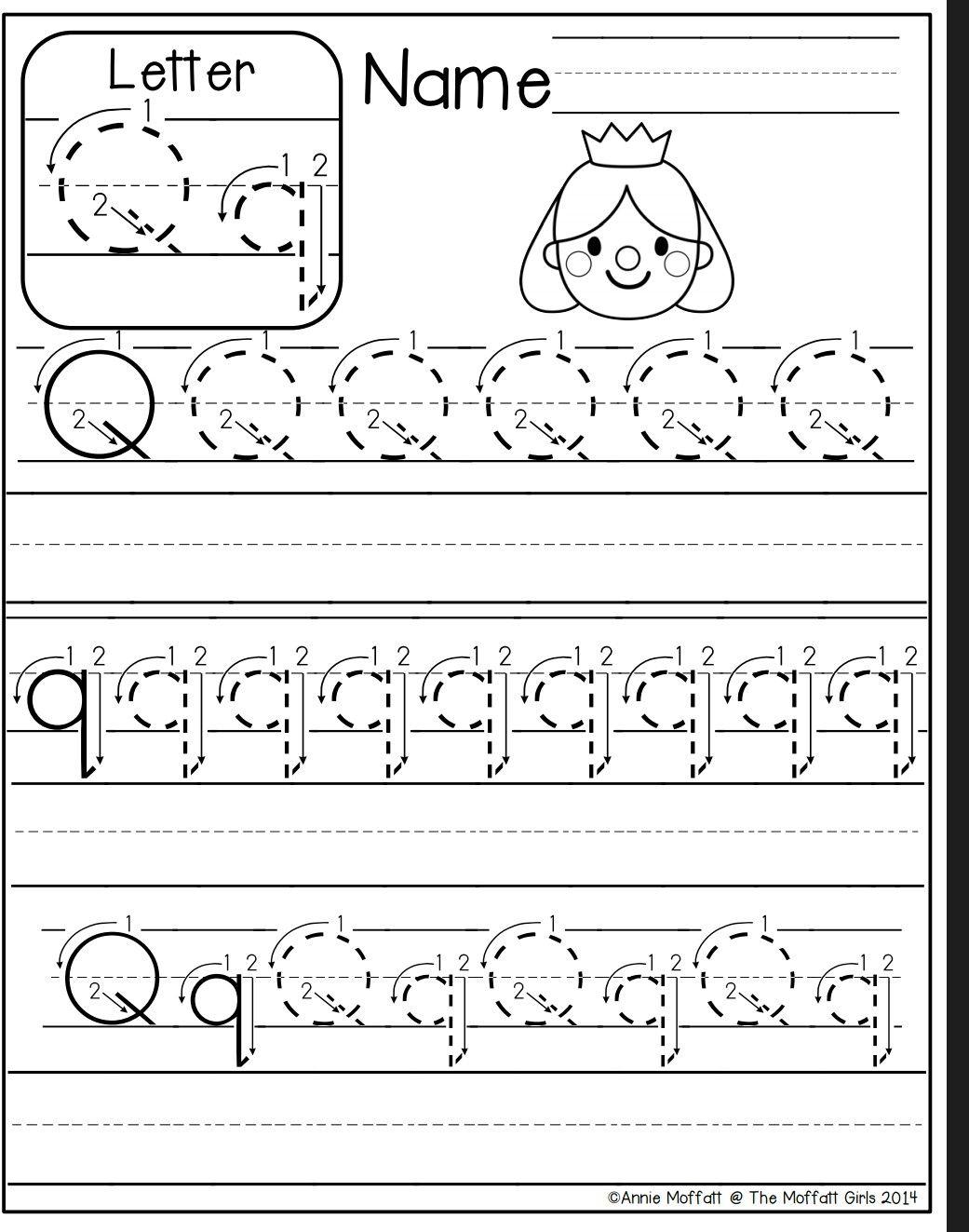 Letter Q Worksheet Letter Q Worksheets Kindergarten Worksheets Kindergarten Letters