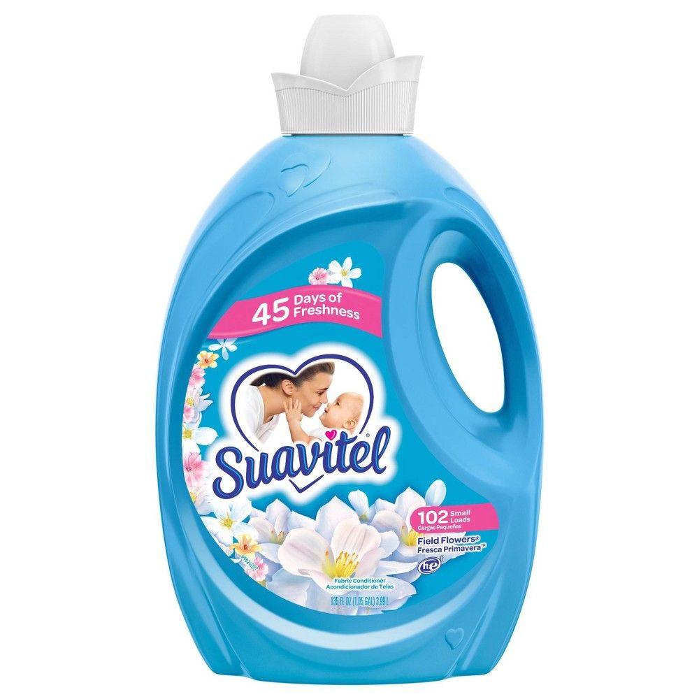 Suavitel Liquid Fabric Softener And Conditioner Field Flowers