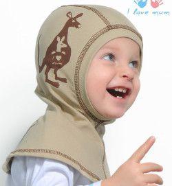 Выкройка детской шапки шлема
