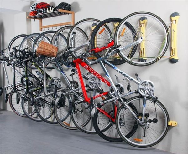 11000 steady rack bike storage project pinterest for Rack rangement garage