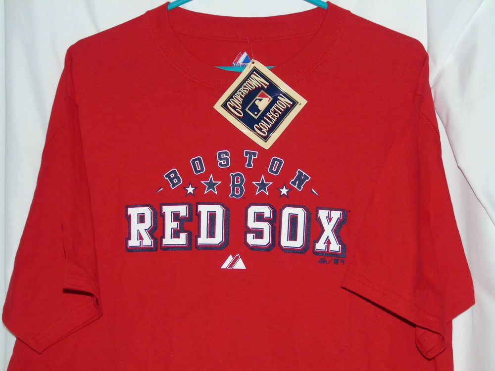 90ef096e Majestic Boston Red Sox T-shirt L World Series ticket design #Majestic # BostonRedSox