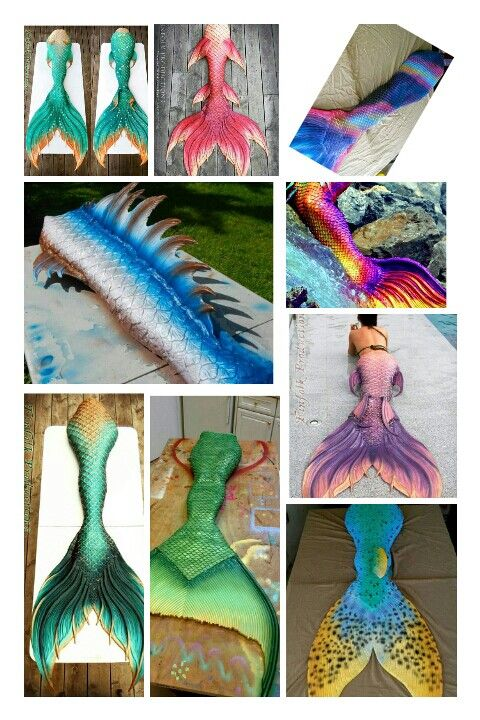 Silicon Mermaid tails*