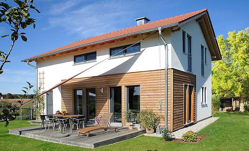 Das skandinavische Einfamilienhaus Haas TL 163 von Haas Haus: ein ...