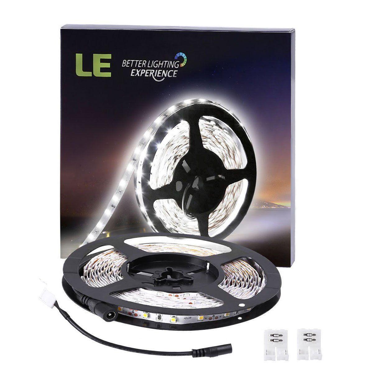 LE 16.4ft LED Flexible Light Strip, 300 Units SMD 2835
