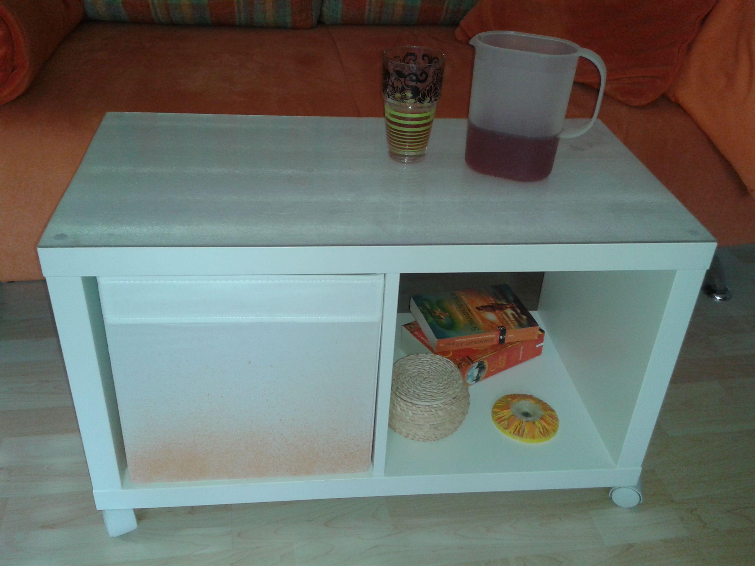 My First Ikea Hack I Turned A Kallax Shelf Into A Coffee Table By Adding Perspex And Some Wheels Cube Furniture Ikea Kallax Shelf [ 1920 x 2560 Pixel ]