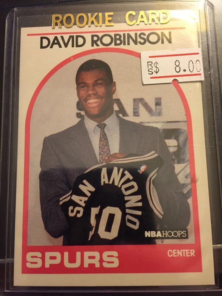 1989 1990 fleer hoops david robinson san antonio spurs