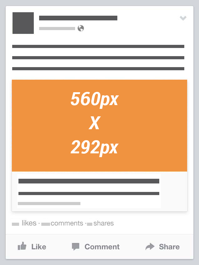 Facebook Link Thumbnail Image Dimensions [Reference