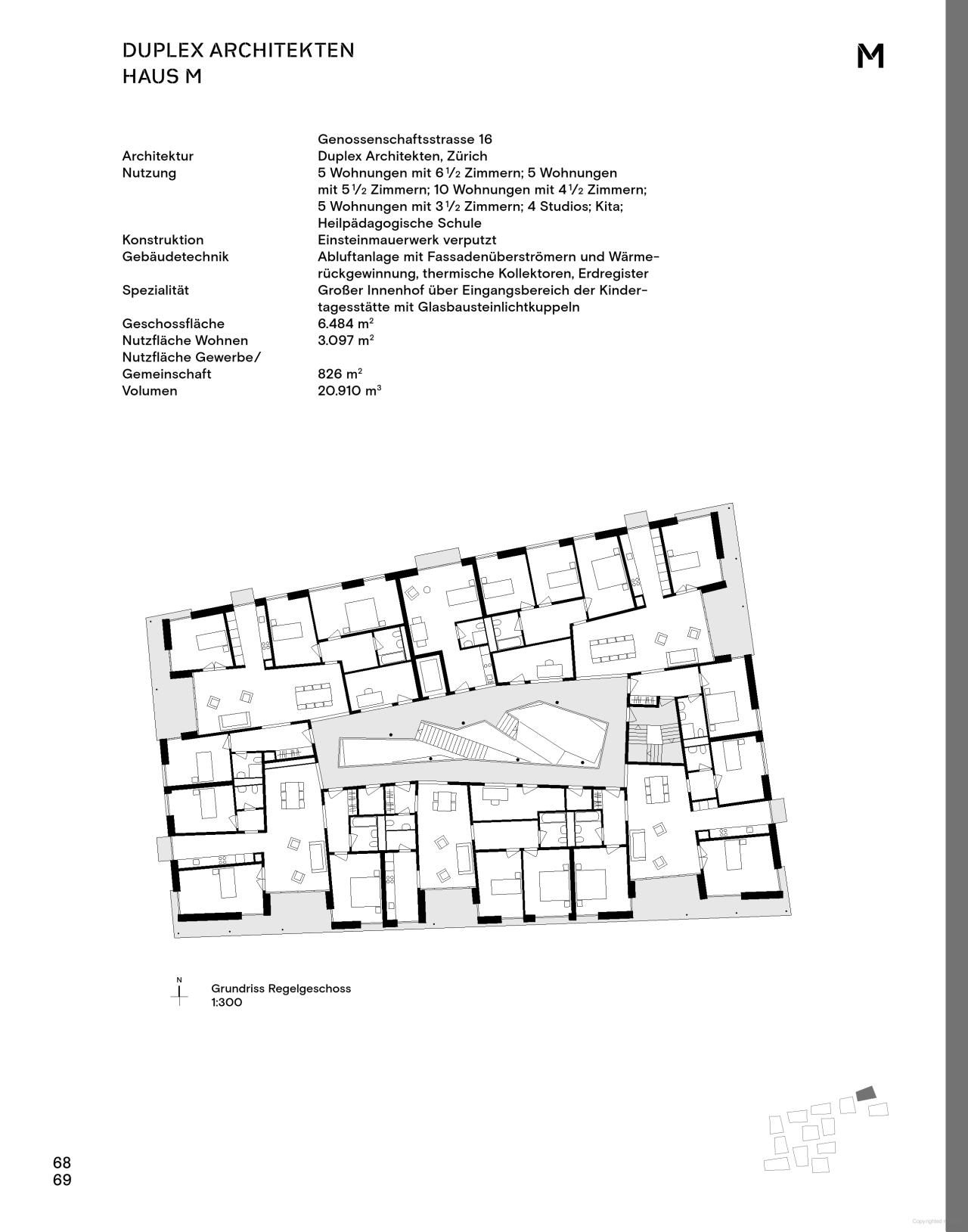 Elegant Mehr Als Wohnen Baugenossenschaft Zürich Haus M   Duplex Architekten