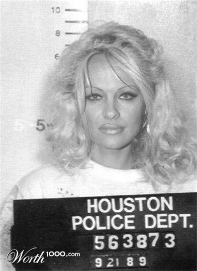 Celebrity Mugshots - Worth1000 Contests Pamela Anderson