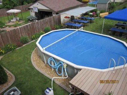 $1,500 24\' X 15\' Above Ground Heated Pool for sale in Garden ...