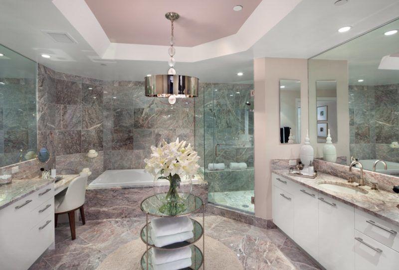 Badezimmer rosa ~ Inspiration ideen für italienische fliesen im badezimmer