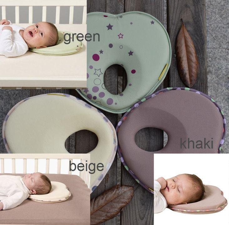 c9d5bec4c3f14e Gorący niemowląt zagłówek zagłówek dla dzieci w kształcie snu pozycjoner  stabilizatora poduszki opieki poduszki dla dziecka, aby zapobiec płaskim  łbem