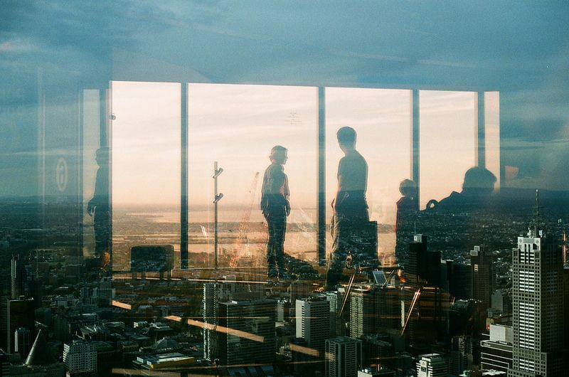 Reflection Reflection Broken City Photo