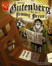 Johann Gutenberg--inventor of the printing press
