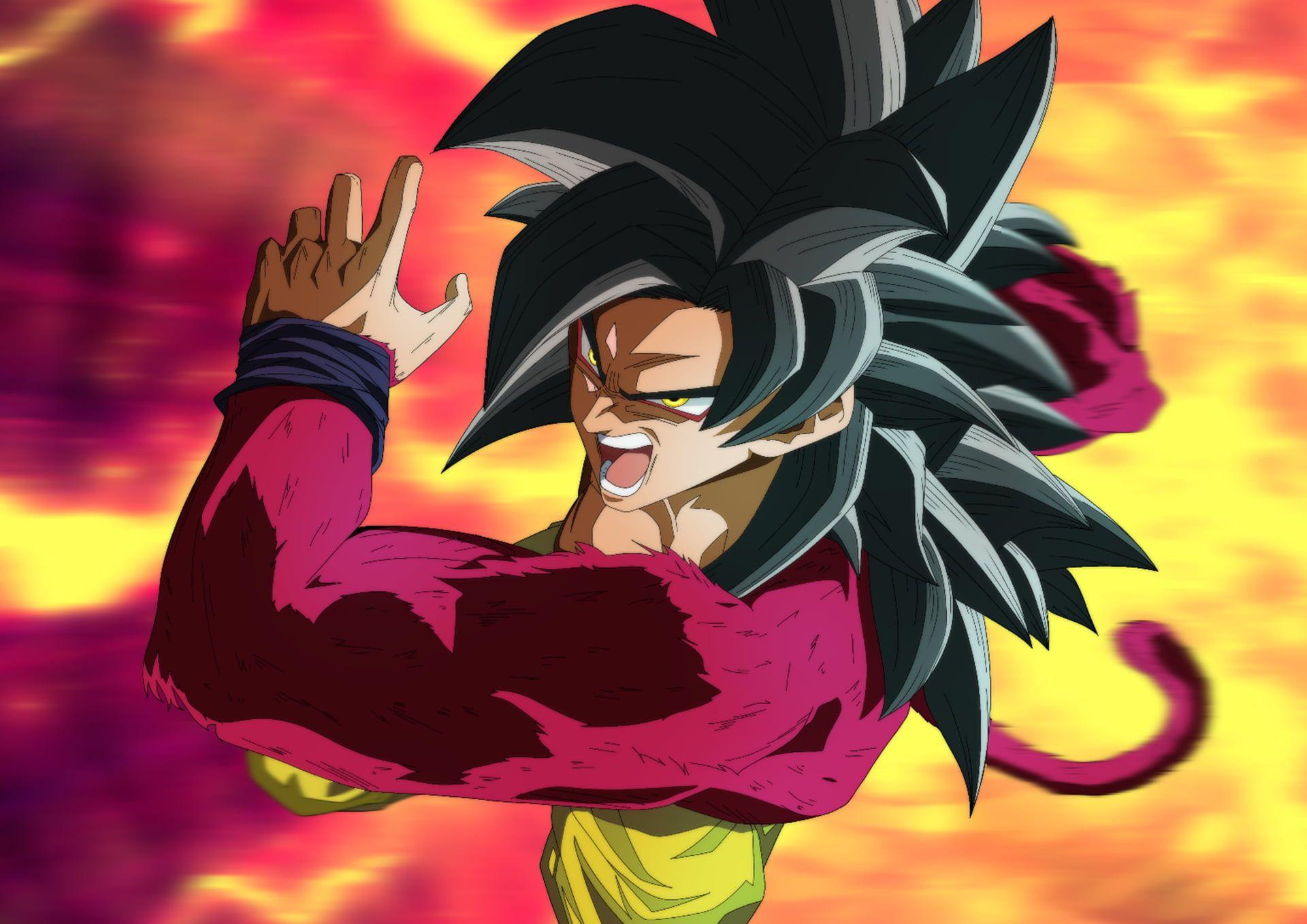 Dragon Ball Dragon Ball Gt Goku Super Saiyan 4 1080p Wallpaper Hdwallpaper Desktop Dragon Ball Gt Dragon Ball Goku Super