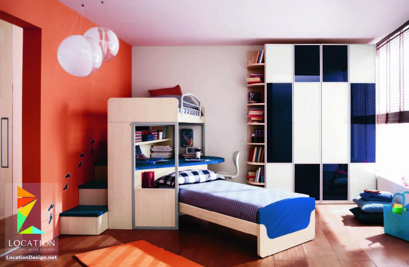 غرف نوم اولاد شباب أحدث موديلات غرف شبابي مودرن لوكشين ديزين نت Bedroom Design Boy Bedroom Design Bedroom Interior