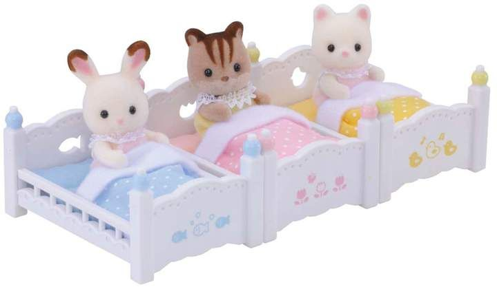 Calico Critters Triple Baby Bunk Beds Set Baby Bunk Beds Bunk
