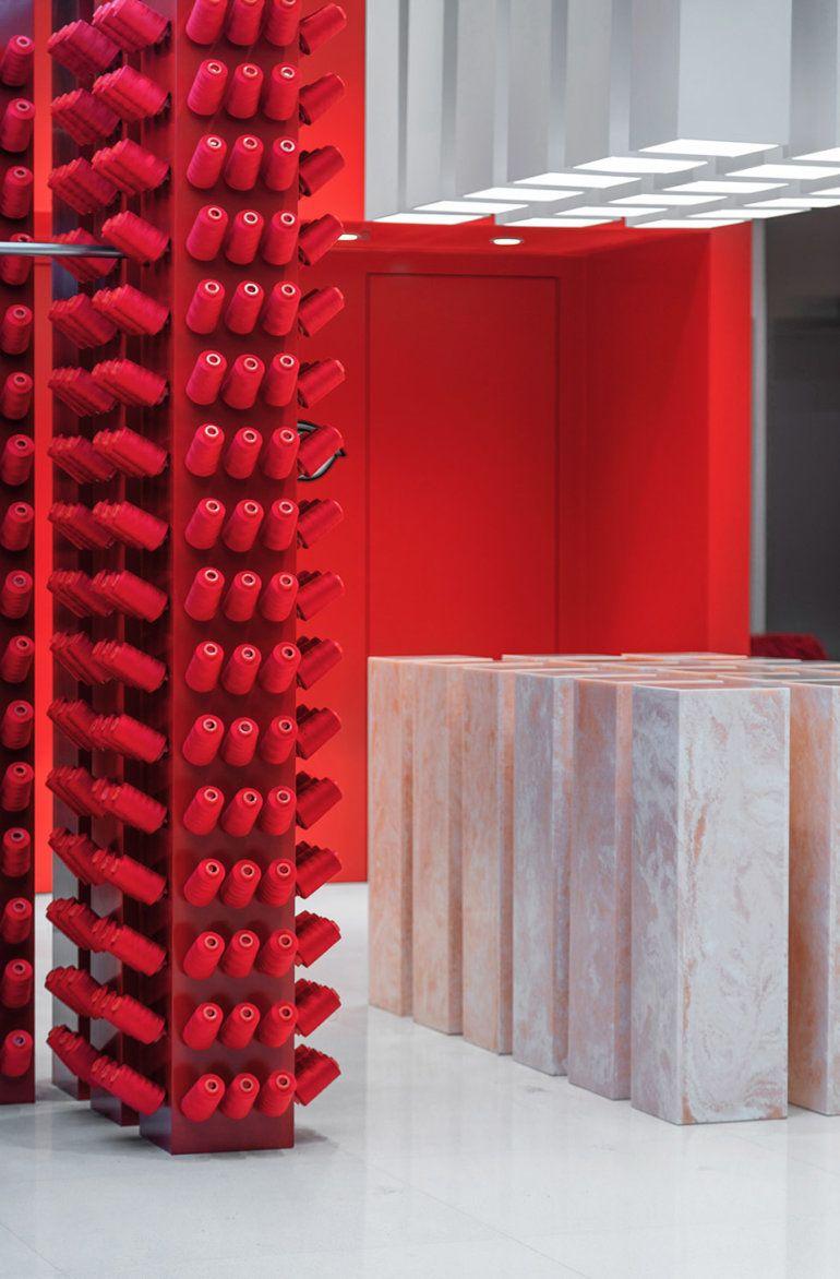 Joy Season Studio Designs The New Concept Store For Annakiki Fairp Int Store Design Seasonal Joy Retail Design