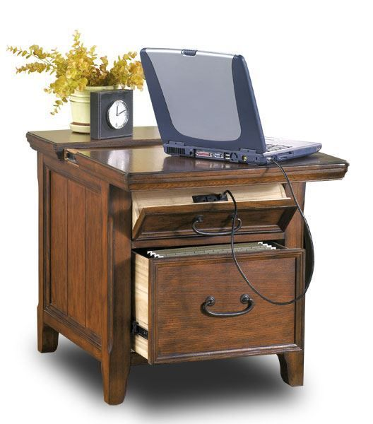 End Table with Work Center Living rooms, Traditional and Accent