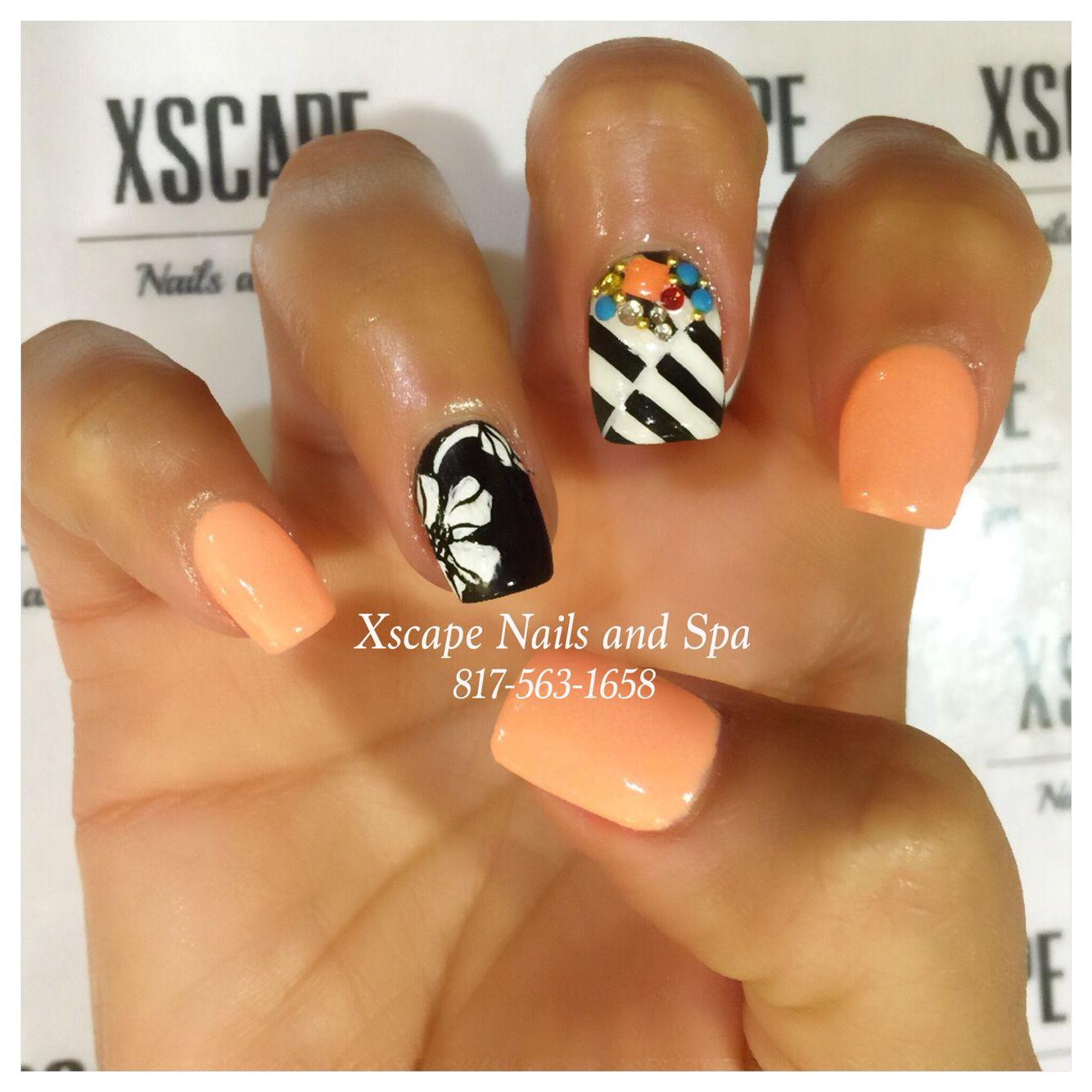Magnolia nail designs/summer nails | Cute Nails Designs | Pinterest ...