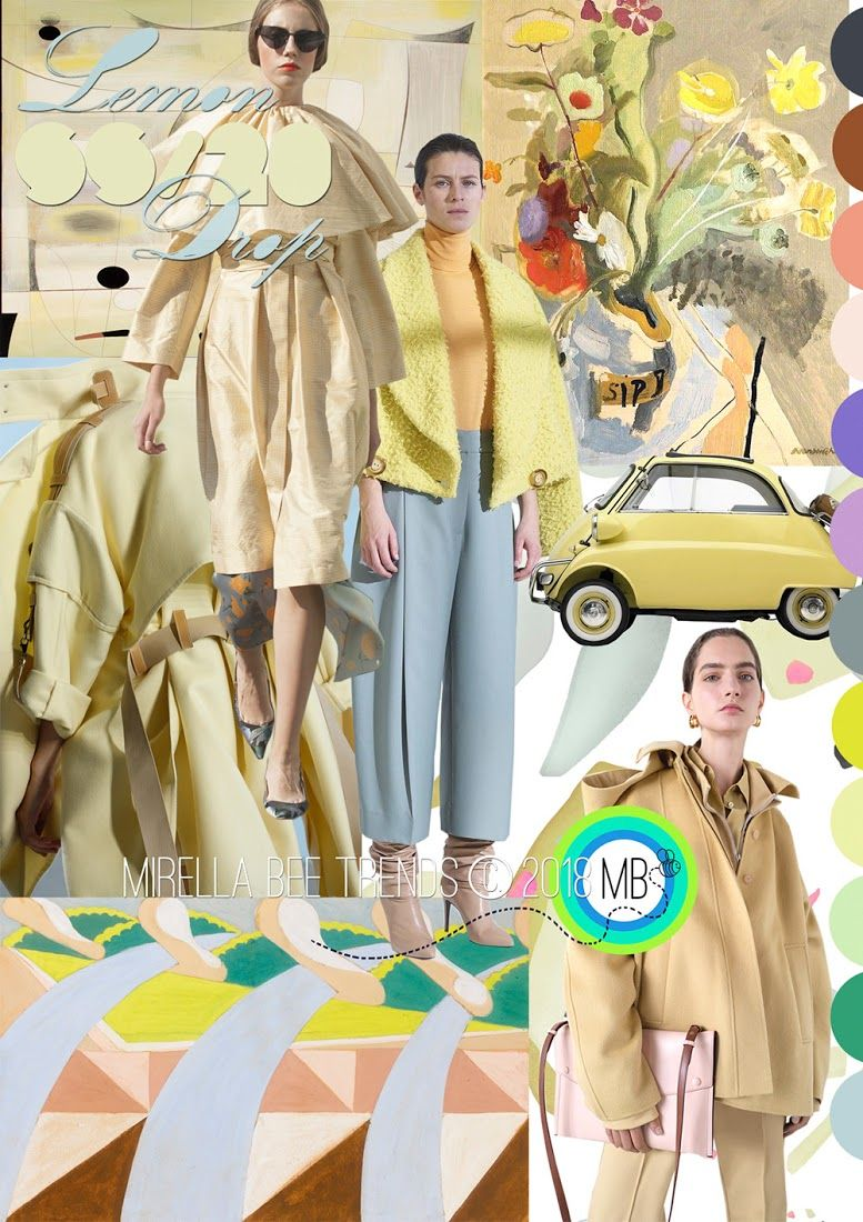 FASHION VIGNETTE: TREND | MIRELLA BRUNO - LEMON DROP . SS 2020