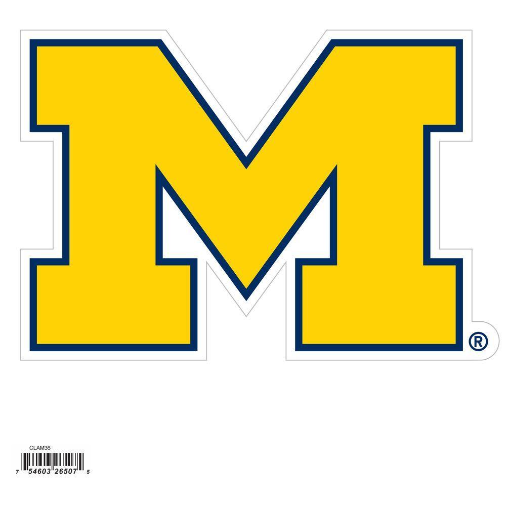 Michigan Wolverines 8 Inch Logo Magnet