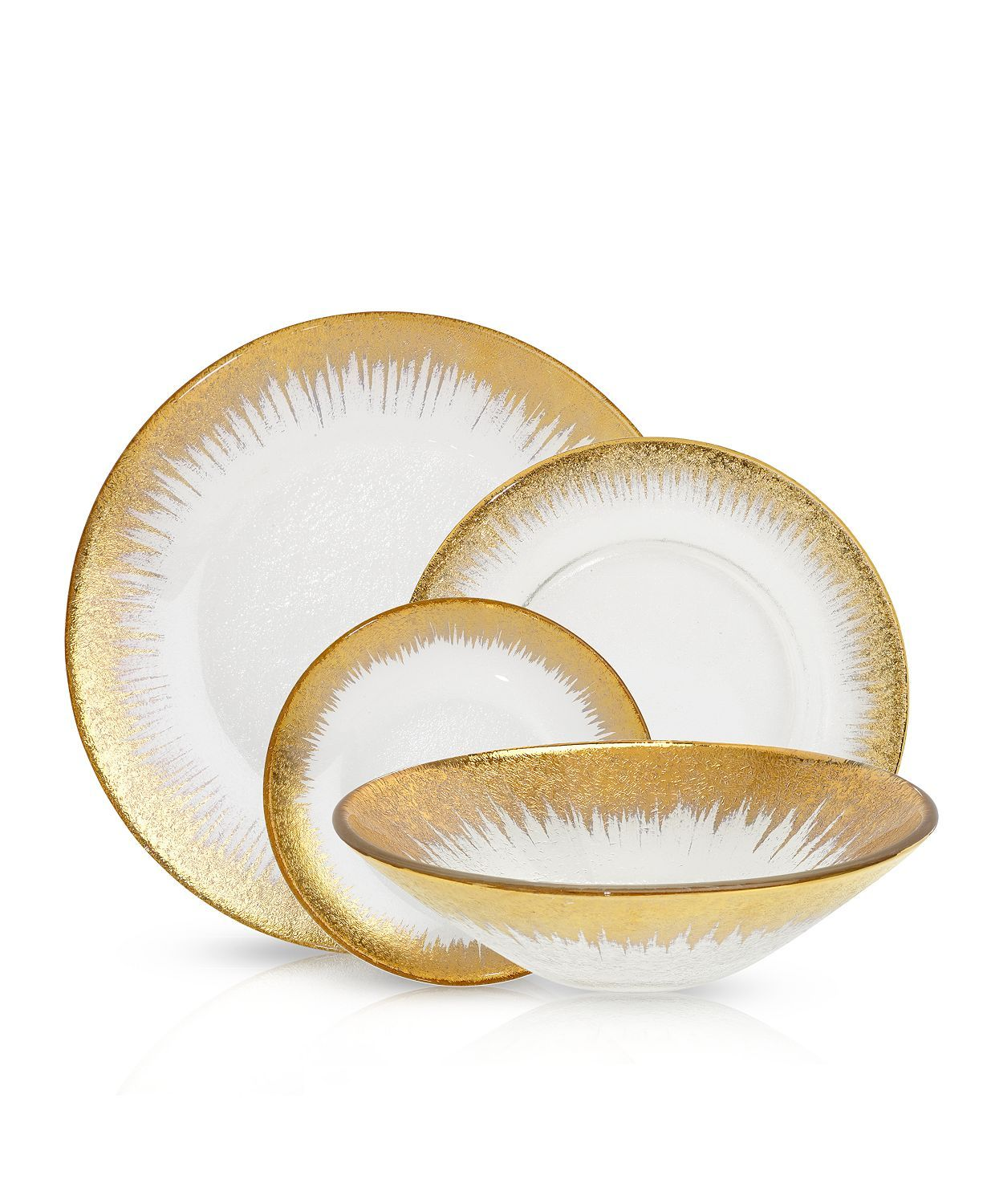 Villeroy Boch Belissimo Dinnerware Collection 100 Exclusive Dining Entertaining Dinnerware Bloomingdale S Gold Dinnerware Elegant Dinnerware Dinnerware