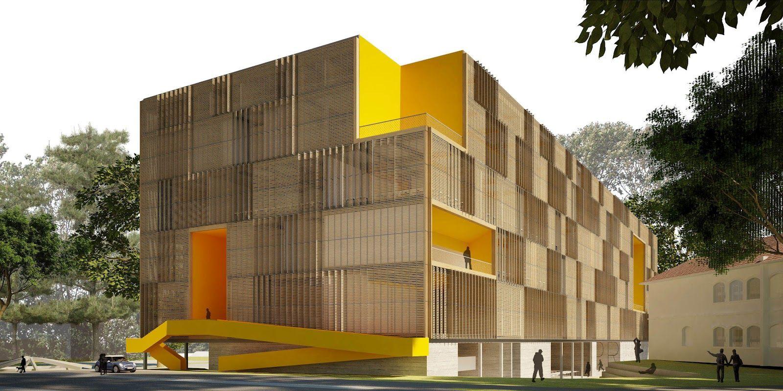anatomia arquitetônica: Concurso Campus Cabral – Projeto Arthur Casas – 1o Lugar