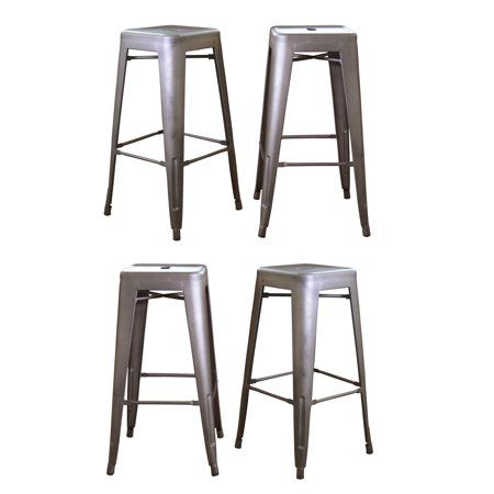 Admirable Home H Kitchen In 2019 Bar Stools Metal Bar Stools Stool Inzonedesignstudio Interior Chair Design Inzonedesignstudiocom