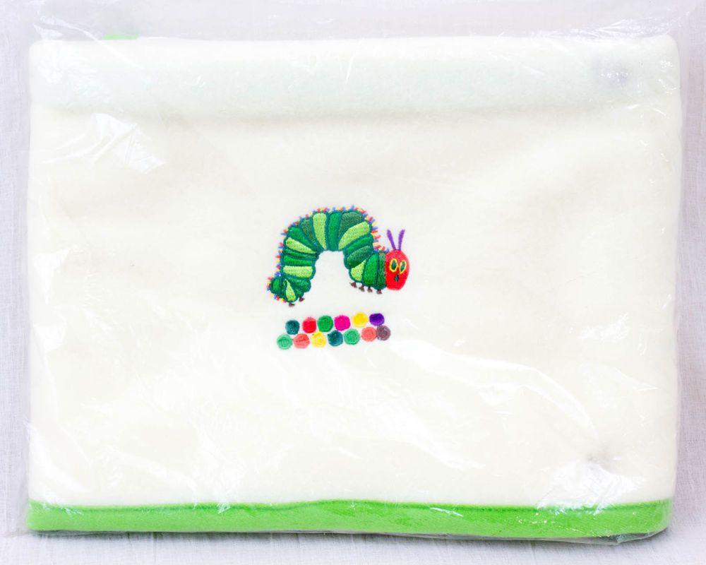 The Very Hungry Caterpillar Fleece Lap Robe Rug ERIC CARLE MINI BLANCKET
