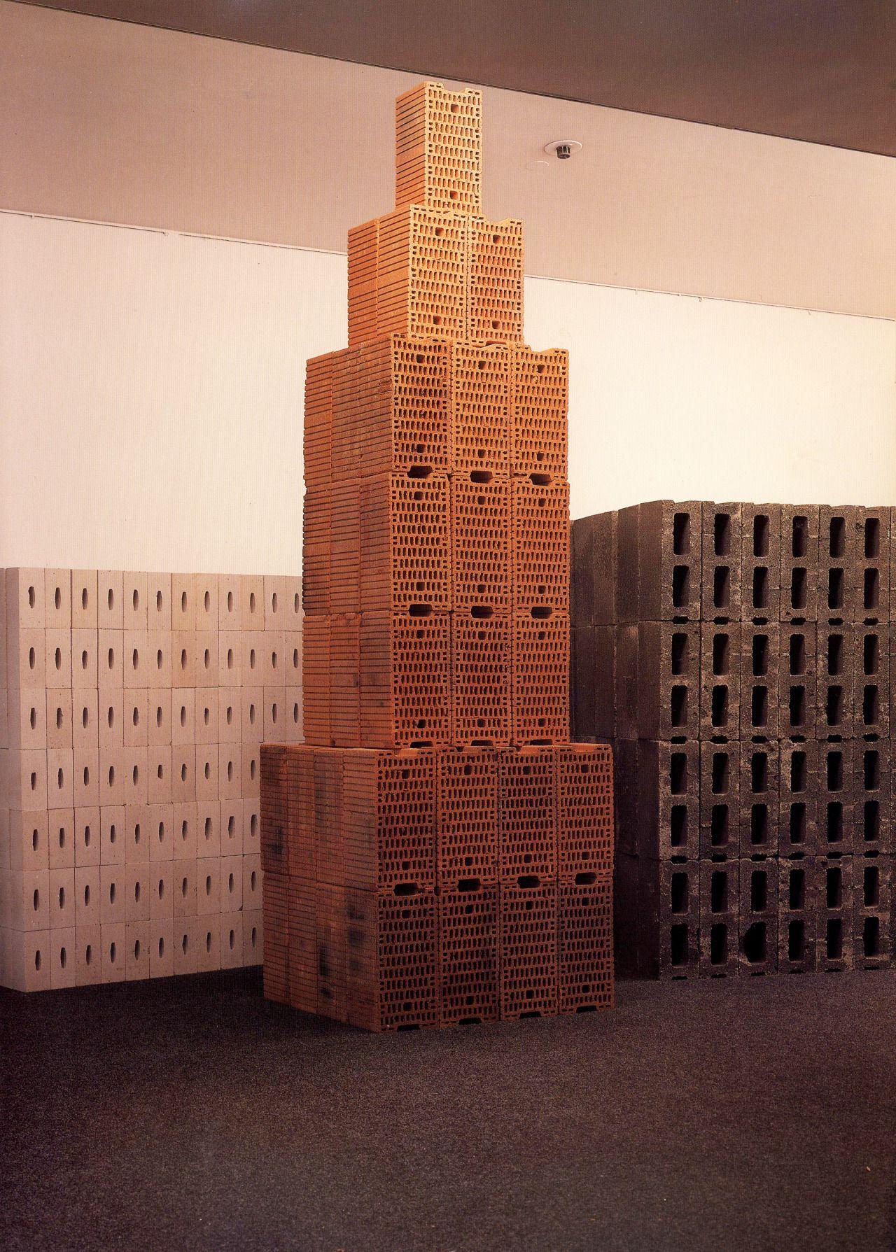 // Tony Cragg, 'Three Modern Buildings', 1984.