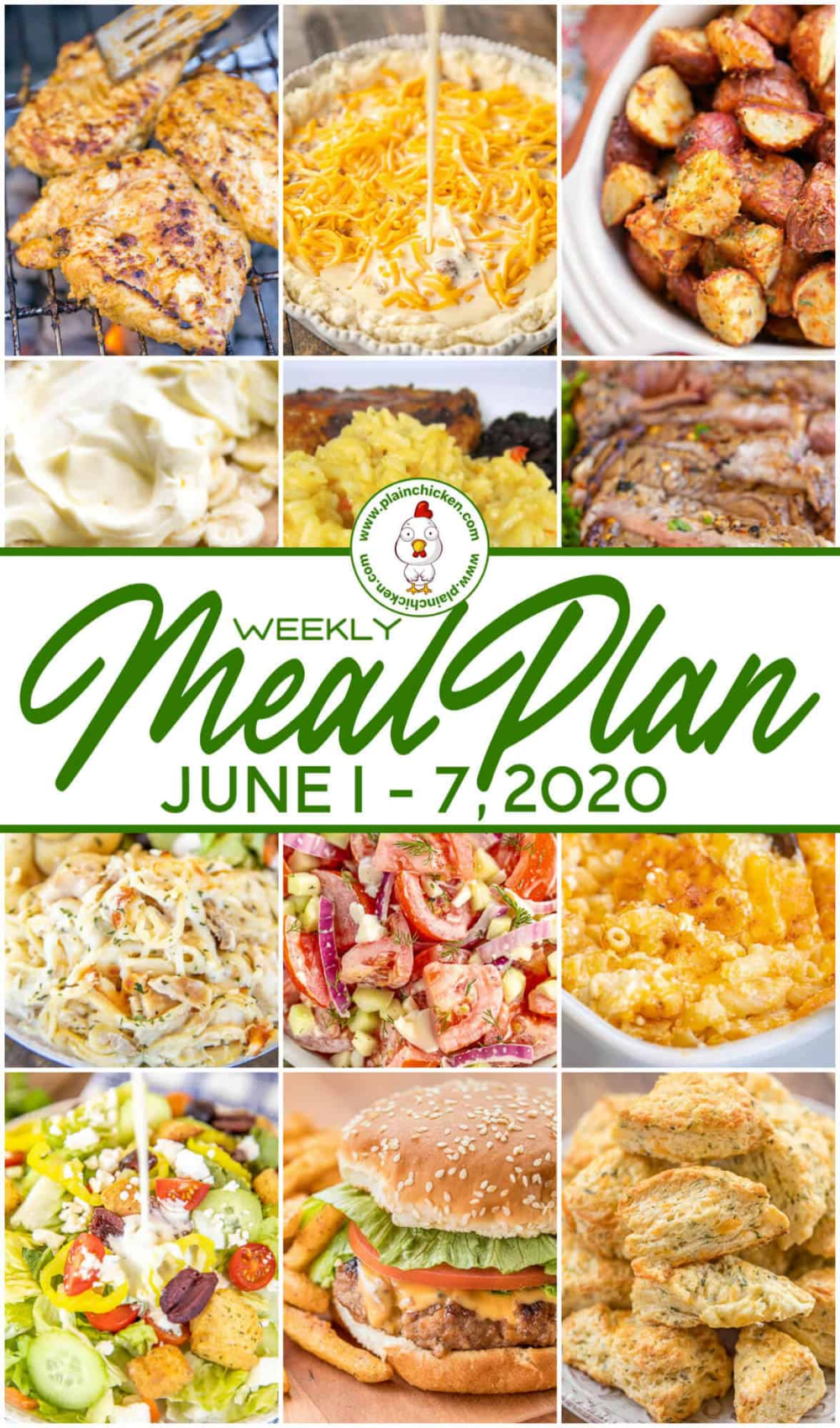 Pin on Weekly Meal Plans